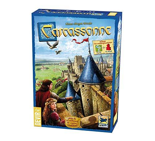 Devir Juego Carcassonne Basico ¡CREA Tu Propio Territorio!