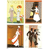 Vogue Vintage Covers Pop Art Poster Print Multi (PDP 024) preiswert