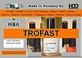 HDO Farbstift Lackstift Touch-up-Pen for Ikea Trofast White