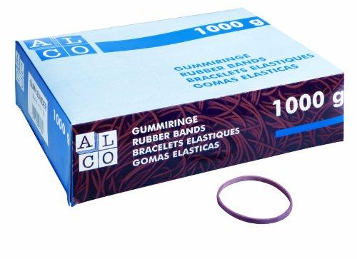 Alco 745 - Gummiringe rot Ø 65 mm, 1 Kilo, rot