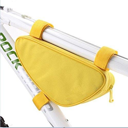LWJgsa Fahrrad Tasche U Bahn Auto Tasche Armaturen Ausrüstung Lemon yellow