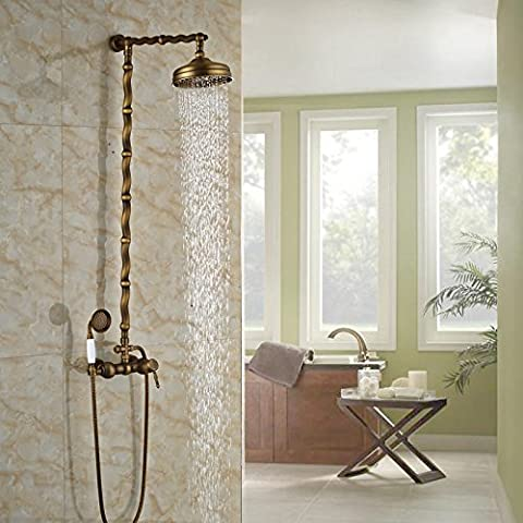 Ohcde Dheark mural Rain-style précipitations de bain douche baignoire et