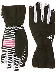 adidas Young - Guantes de esquí para niña, color rosa, talla S