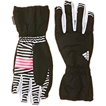 adidas Young - Guantes de esquí para niña, color rosa, talla M