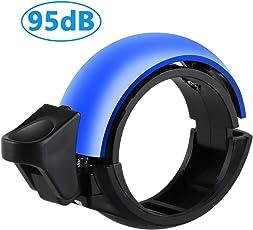 Stanbow Fahrradklingel Laut, O Design Fahrradglocke für Alle Fahrrad - Lenker Alarm Horn Ring 22.2-31mm, 95dB Laut