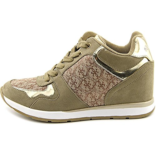 Guess Laceyy5 Toile Baskets Natural Multi