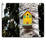 Liili Mauspad Naturkautschuk Mousepad Bild-ID 33566632Vogelhaus auf einen Baum