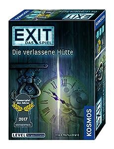 KOSMOS Spiele 692681 - Exit - Das Spiel, Die verlassene Hütte, Kennerspiel des Jahres 2017