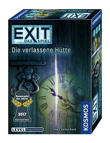 emotify spiel KOSMOS Spiele 692681 - Exit - Das Spiel, Die verlassene Hütte, Kennerspiel des Jahres 2017