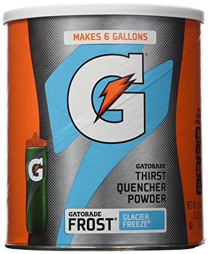 Gatorade Frost Glacier Freeze Powdered Drink Mix Net Wt 3bs 2oz (50.9 ounces) (Mix Powdered Drink)