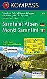 Sarntaler Alpen/Monti Sarentini 1 : 25 000: Wandern / Rad / Skitouren. Escursioni / bike / sci alpinismo. GPS-genau -
