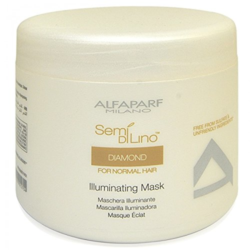 ALFAPARF Semi Di Lino Diamond for Normal Hair Illuminating Mask, 17.3 Ounce by Nandansons (DROPSHIP) -
