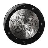 Jabra Speak 710 MS Universal USB/Bluetooth Black,Silver speakerphone - speakerphones (Universal, Black, Silver, Portable, 30 m, 70 dB, 1 m)