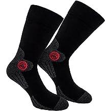 Brubaker 4 Pares de Calcetines de Mujer Sports para Senderismo Trekking Ciclismo Caminar y Correr