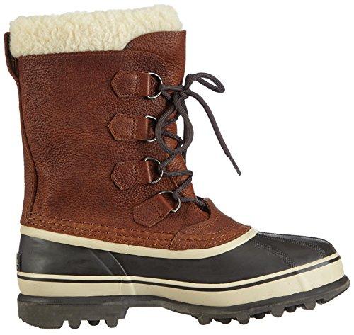 Sorel Caribou Wl, Bottes de neige homme, Marron Tabac