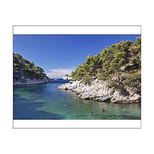 Robert Harding 20x16 Print of Les Calanques Port Pin, National Park, Cassis, Provence (11703054)