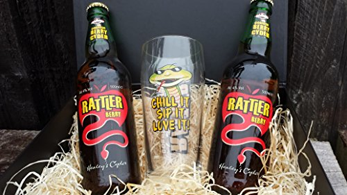 Simply Cornish Hampers Berry Rattler Cider Gift Box