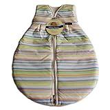 Alvi Mäxchen Schlafsack Außensack Thermo, Größe:90;Design:bunt gestreift 118-1