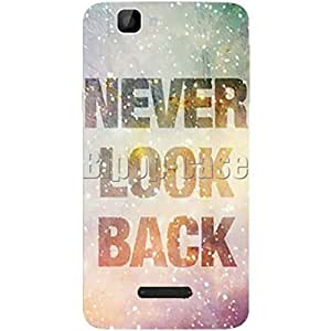 COQUE PROTECTION TELEPHONE WIKO RAINBOW- NEVER LOOK BACK GALAXY