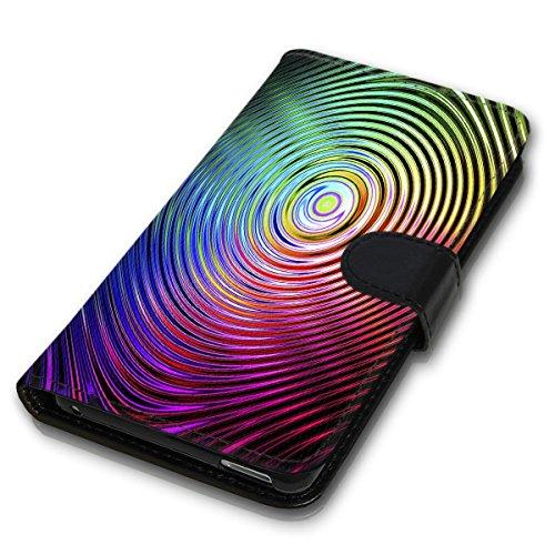 Wallet Book Style Flip Handy Tasche Case Schutz Hülle Schale Motiv Etui für Apple iPhone 5 / 5S - Variante UMV11 Design12 Design 3