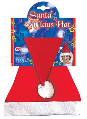 Santa Claus Mütze (Kostüme Ideen Halloween Duo)