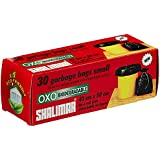 Shalimar Premium OXO - Biodegradable Garbage Bags (Small) Size 43 cm x 51 cm 4 Rolls (120 Bags) (Dustbin Bag/Trash Bag) (Green Colour)
