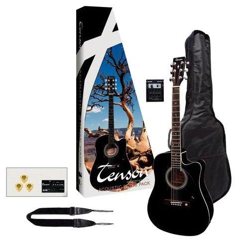 VGS Acoustic Pack Elektro-Akustik-Westerngitarre