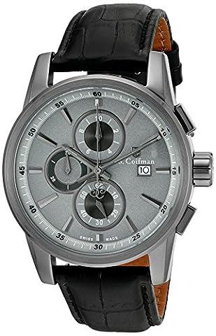 S.Coifman Herren- Armbanduhr Chronograph Quarz SC0259
