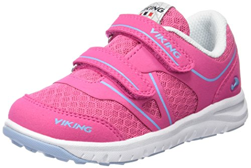 Viking Hel Ii Unisex-Kinder Low-Top Pink (Dark Pink/Light Blue 3956)