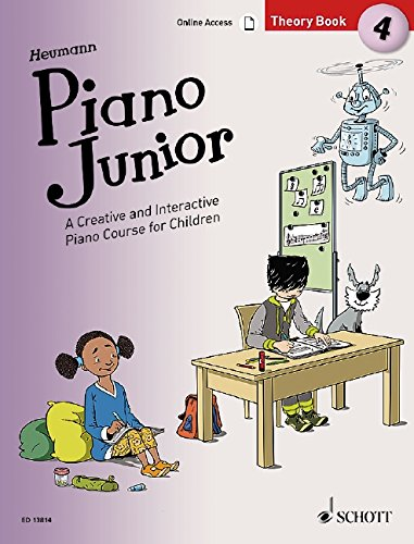 Piano Junior: Theory Book 4: A Creative and Interactive Piano Course for Children. Vol. 4. Klavier. (Piano Junior - englische Ausgabe)