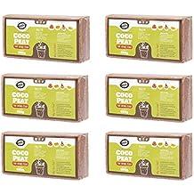 Coco&Coir 6 x 650 g (9L) – Orgánico – Fibra de Coco 100%