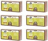 Coco&Coir® 6 x 650 (9L) Kokoserde | Kokosblumenerde| Kokospflanzerde | Kokos-Kompost | Blumenerde aus Kokosfaser | Kokostorf | Kokoseinstreu Bodengrund für Reptilien | 100% natürlich | | Kokoshumus