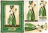 Indossa il vestito verde vintage Fashion PY by Silvia Griffin