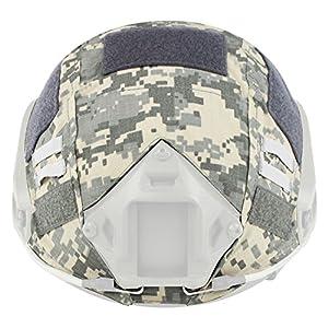 Casque pour Chiffon de paintball Wargame armée Airsoft tactique militaire de camouflage Coque pour rapide/PJ/MH casque