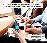 from JiGMO Best Voice Activated Recorder Device for Clear Audio Recording in Meetings & Lectures, mp3 Files, Digital Pocket Dictaphone Mini Player, 2 Small Sound Microphones, Headphones, & USB Cable, JiGMO Model JVR-32
