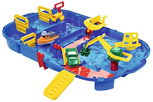 Aquaplay 8700001616 - Wasserkanalbox mit Schleuse