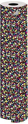 JILLSON Roberts Bulk 1/4Ries Geschenkpapier erhältlich in 14verschiedenen Designs, 61cm X 208', Party Popper