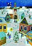 Komm, wir gehen nach Betlehem: Ein Fensterbild-Adventskalender mit einer Weihnachtsgeschichte von Saskia Hula
