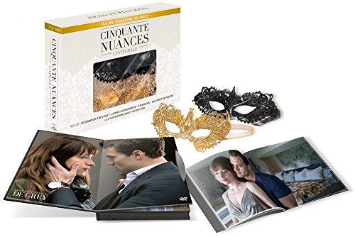 Coffret Collector Cinquante Nuances [Édition Collector Ultimate - Version longue + version cinéma - Blu-ray + DVD + 2 DVD bonus + 2 masques]