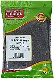 Natures Choice Black Pepper Whole - 200 gm