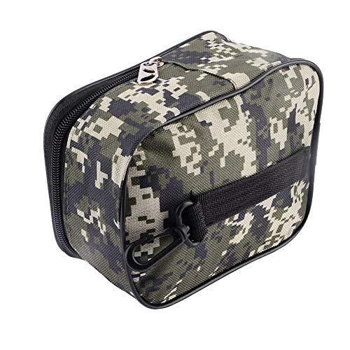 Alomejor Hot Tragbare Angelrolle Mini Bag Tasche AngelgeräT Beutel Taille Tasche Outdoor