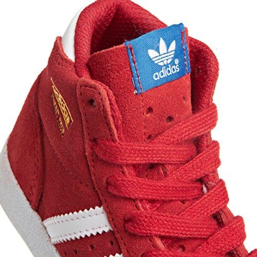 adidas Adidas Basket Profi Kids, Tendance mixte enfant Rouge