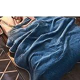 Senior Double Layer Reisen Decke,Die Sherpa Super Weich Pr?gung Muster Superfine Faser Warm Bett Oder Sofa Decke Geeignet Für Alle Jahreszeiten Urlaub Perfekt Geschenk Pflegeleicht-J 120x200cm(47x79inch)