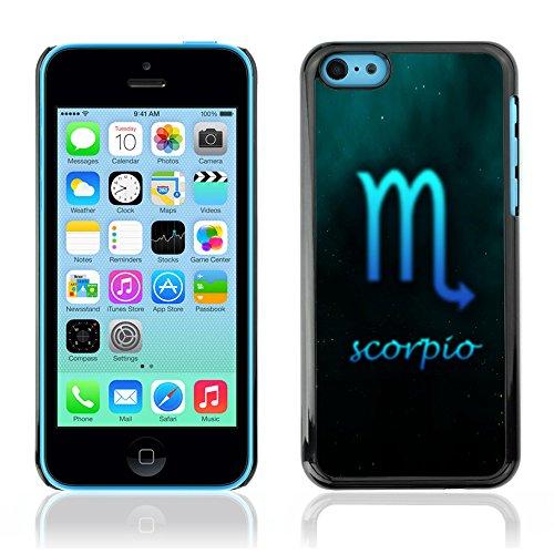 Graphic4You Aquarius Wassermann Horoskop Tierkreis Zeichen Design Harte Hülle Case Tasche Schutzhülle für Apple iPhone 5C Scorpio