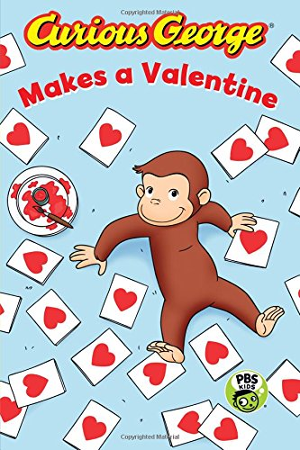 Curious George makes a valentine