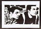 Poster Friends Chandler E Joey Handmade Graffiti Street Art - Artwork
