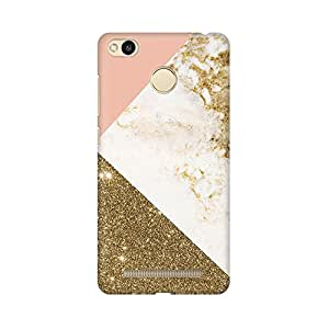 Mobicture Abstract Marble Print Premium Printed High Quality Polycarbonate Hard Back Case Cover for Xiaomi Redmi 3s Prime With Edge to Edge Printing