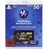PlayStation Network Card 50  [Guthabenkarte für deutsches PSN-Konto]
