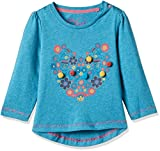 #7: Mothercare Baby Girls' T-Shirt (JJ263-1_turquoise_12-18 months)