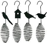Erdtmanns Spiralhalter für Vogelfutter